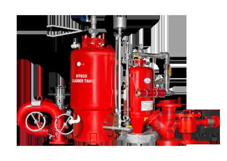 обслуживание систем пожаротушения