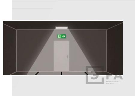 монтаж аварийного освещения